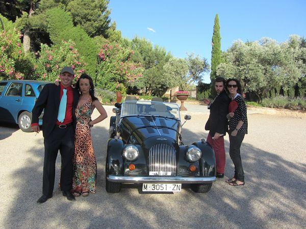 Actores infiltrados boda madrid