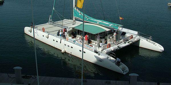 Fiesta en barco en Valencia