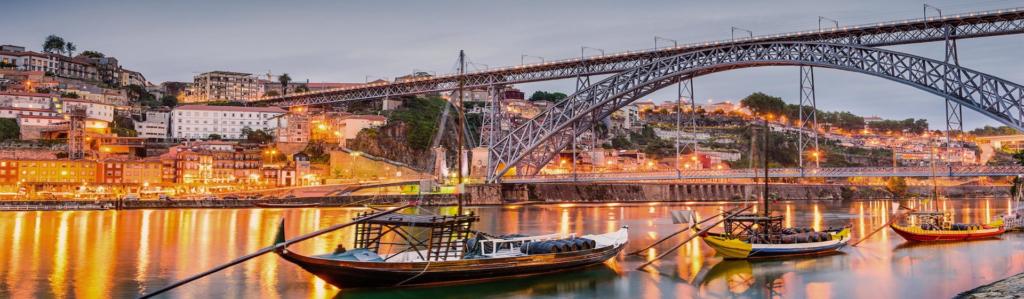 Despedida de soltero en Oporto. Actividades divertidas para grupos en Oporto, Portugal. Fiestas en barco, gymkanas, cenas en restaurantes con espectáculo en Oporto