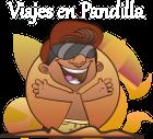 Viajes en Pandilla. Logo